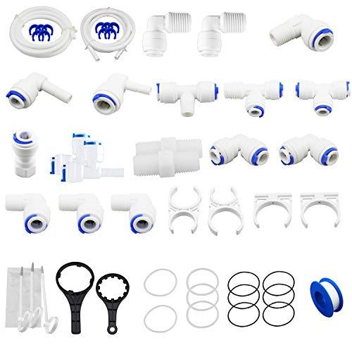 Geekpure RO Wasser Umkehr Osmose System Teile Kit -Pack von 61