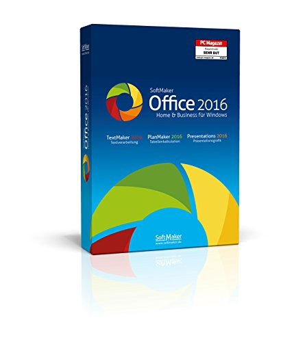 SoftMaker Office Home & Business 2016 (für 3 PCs)|Home & Business|1|unbeschränkt|PC / Notebook|Disc|Disc