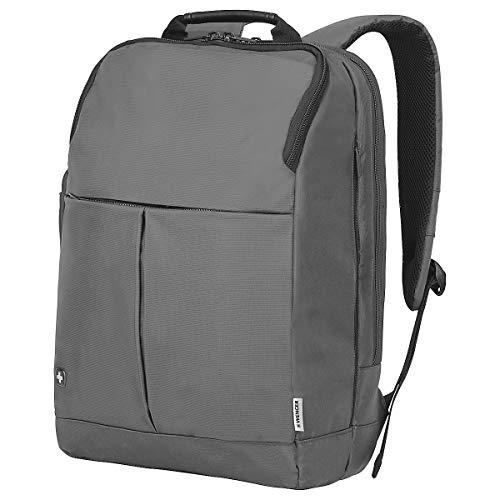 Wenger 601071 RELOAD 16' Laptop Backpack , Padded laptop compartment with iPad/Tablet / eReader Pocket in Grey {24 Litres}