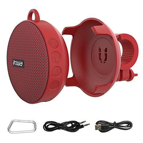 Bluetooth Speaker for Bike,Inwa Wireless Portable Shower Travel Bike Speaker,Enhanced Bass,Built in Mic for Bicycle Riding,Sports,Pool,Beach,Hiking