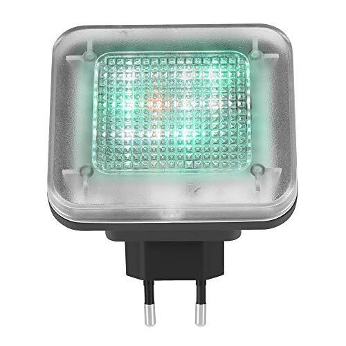 DeeCozy Simulador de TV, luz de Simulador de TV LED, Luz de TV Falsa para Herramienta de Seguridad para el Hogar Antirrobo