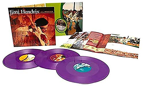 Live At Woodstock - Exclusive Limited Edition Purple Haze Colored 3x LP Vinyl [Condition-VG+NM]
