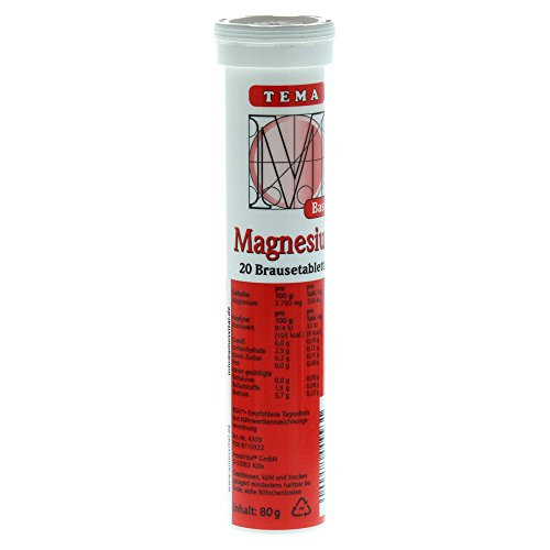 AmosVital Magnesium bruistabletten, 80 g