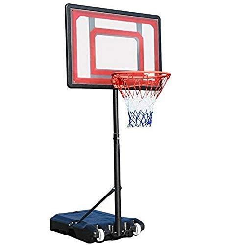 Canasta Baloncesto Pared Adulto Marco de Baloncesto al Aire Libre, Stand elevable Mobile Training System Baloncesto aro de Baloncesto estándar, estándar elevable Cesta