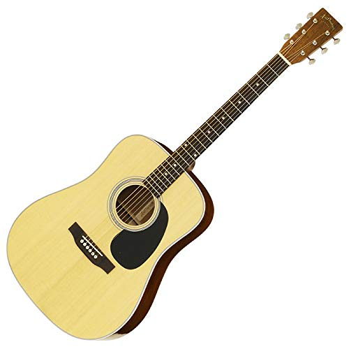 【ケース付】ARIA アリア AD-40LTD N Natural Solid Sitka Spruce トップ ドレッドノートタイプ アコースティックギター