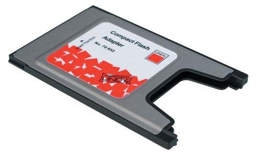 LINDY Adattatore PCMCIA a Compact Flash per schede Compact Flash su slot PCMCIA