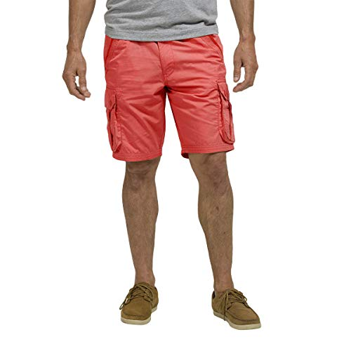 OxbOw OSTELY Short Homme, Rouge Lavé, FR : S (Taille Fabricant : 30)