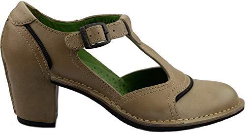 Camel Active 232.12.02 Zapatos de salón de Mujer - Cuero Beige (Numeric_39)
