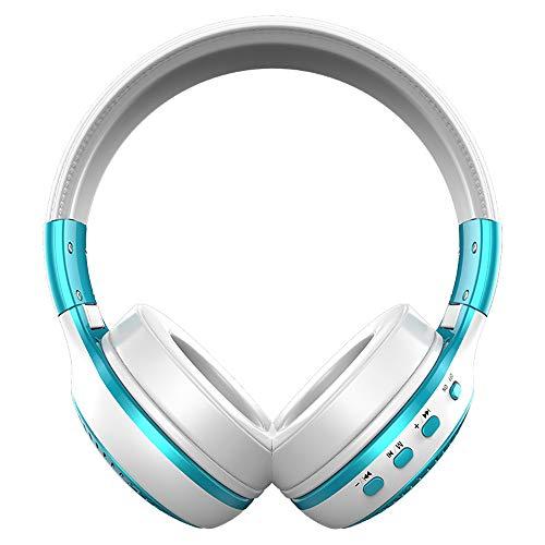 BAIYI B19 Draadloze Headset Bluetooth Headset Stereo Card Radio met Scherm voor PC, Mobiele telefoon, Game Console
