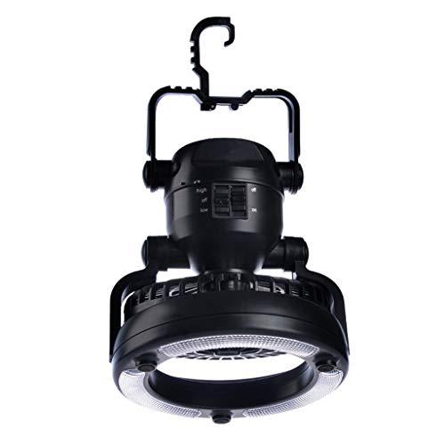 Nosterappou Outdoor-Licht Camping Zelt Licht Fan Camping Licht, tragbare Camp Licht, Licht kleine Fan Outdoor Camping Licht, LED-Beleuchtung Notlicht, tragbare Licht Camping Zelt Licht, Haken/Griff