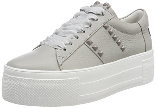 Kennel und Schmenger Damen Top Sneaker, Grau (Grey Sohle Weiß), 36 EU (3.5 UK)