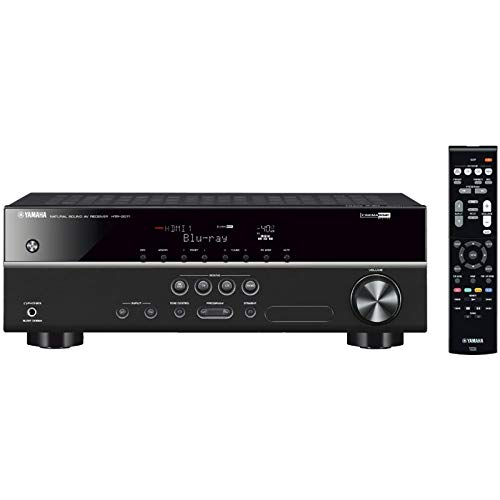 Yamaha HTR-2071 5.1channels Black home cinema system - home cinema systems...