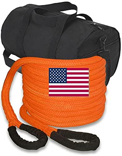 BILLET4X4 U.S. Made 1 inch X 30 ft Safety Orange...