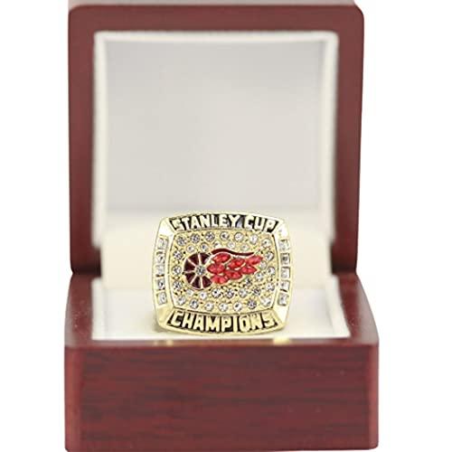 CLCL Anillo De La Liga Profesional De Hockey, Anillo del Campeonato Detroit Red Wings De 1988, Colección De Regalos Conmemorativos para Las Fiestas, Without Box, 11#