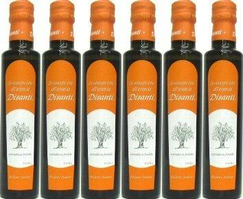 [ Disanti ] デサンティ、エキストラヴァージン オレンジ・オリーブオイル 250ml 6本【まとめて値】