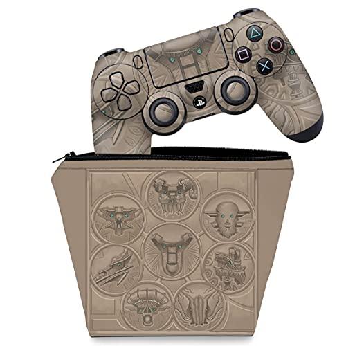Capa Case e Skin Adesivo PS4 Controle - Shadow Of The Colossus