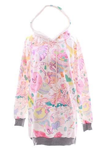 Kawaii-Story - Sudadera con capucha - para mujer Multicolor multicolor Talla única
