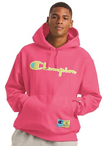 Champion Reverse Weave Pullover Hoodie Reef Pink XL