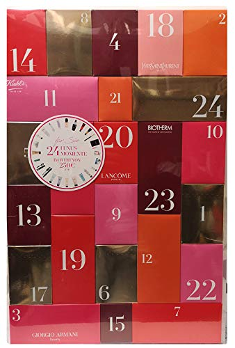 Armani Giorgio Calendario de Adviento 2018 – Limitado – 24 Momentos de Lujo – Belleza – Kiehls – YSL – Biotherm – Lancome