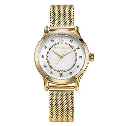Reloj para Mujer, Colección Epoca, Movimiento de Cuarzo, Solo Tiempo con Fecha y día, en Acero - R8853118502