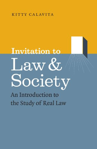 Invitation to Law and Society: An Introduction to the Study of Real Law (Chicago Series in Law and Society)