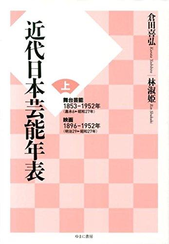 近代日本芸能年表 上