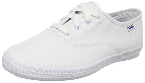 Keds girls Original Champion CVO Sneaker , WHITE, 5 M US Toddler