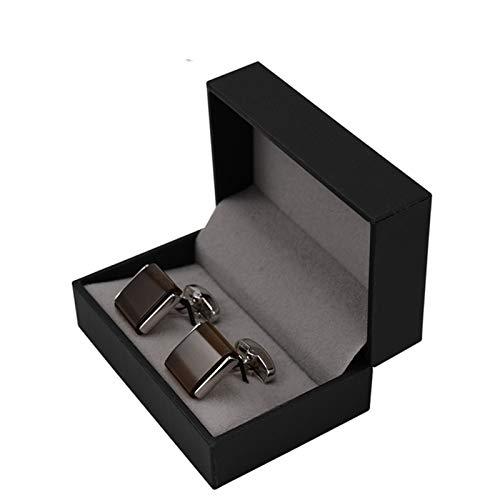 ZYQXB Gemelos para hombre (color metal: se envía con caja de regalo)