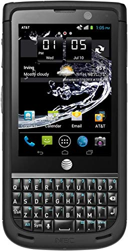 NEC Terrain NE-201A1A (8GB, 1GB RAM) | 3.1' Display | 5MP Camera | 1900 mAh Battery | 4G LTE | QWERTY Keyboard Phone | AT&T