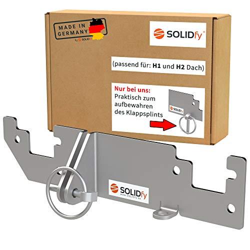 SOLIDfy® - Hecktürverriegelung Einbruchschutz Hecktür Prick Stop Sicherung für Ducato, Jumper, Boxer X250 X290