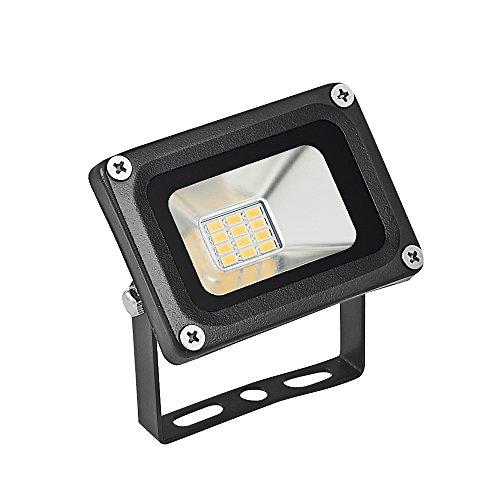 Chunnuan LED Flood Light,20W,2000LUMEN,2800-3200K(Warm White) Waterproof, IP65, Instant On, Aluminium Strahler Outdoor Security Lights Super Bright Floodlight 12V