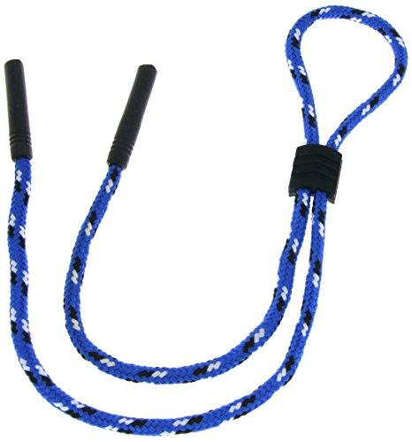 verstellbare Brillenkordel   Blau   Schwarz   Weiß
