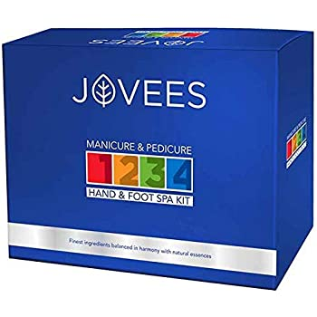 Jovees Manicure and Pedicure Hand and Foot Spa Kit (240 g)