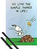 1art1 Peanuts Poster (91x61 cm) Snoopy und Woodstock, Wir