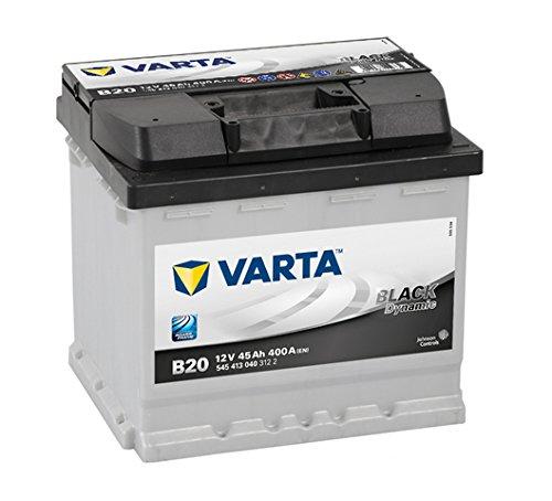 VARTA 5454130403122 Autobatterien Black Dynamic B20 12 V 45 mAh 400 A