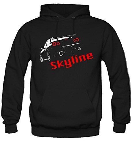 uglyshirt89 Nissan Skyline Kapuzenpullover   Motorsport   Auto   Kult   M1 (XL)