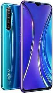 "Realme XT 6.4"" AMOLED RMX1921 Dual SIM 128GB 8GB RAM (GSM Only, No CDMA) International Model - No Warranty (Pearl Blue)"