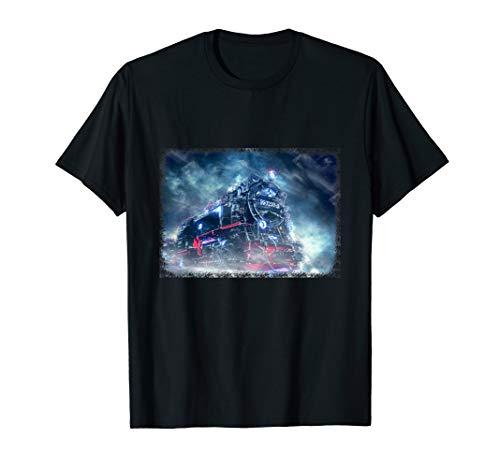 Eisenbahn Dampflokomotive Lokomotive Zug Train Modell Bahn T-Shirt