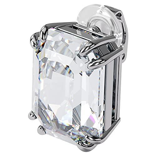 SWAROVSKI Colección de pendientes Mesmera para mujer, acabado rodiado, cristales transparentes Talla única