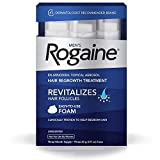 Rogaine for Men Hair Regrowth Treatment, Easy-to-Use Foam, 6 Month Supply (6 Packs- 2.11 oz Cans)