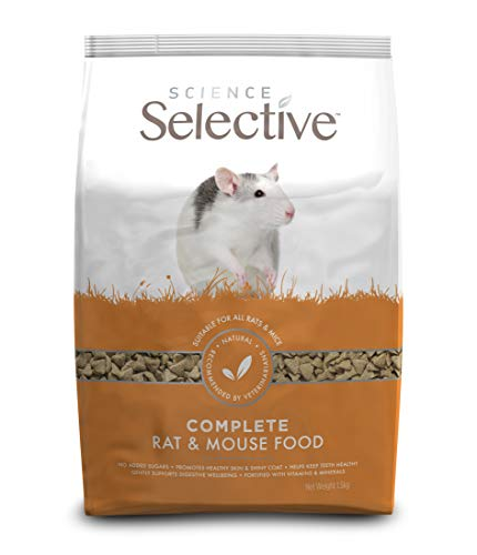 Supreme Petfoods 13945/1618 Supreme Science Selective Rat - 1, 5 kg