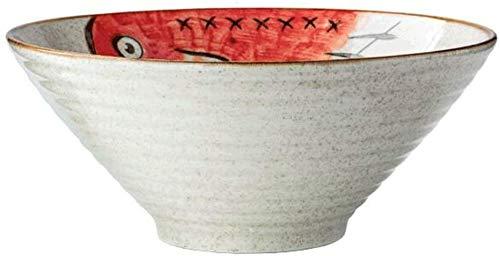 WOHAO Fête des Enfants de la Vaisselle Creative Bowl, légumes Salade de pâtes Gourmet Dessert Fruit Bowl, Bol de Nouilles, Riz Accueil Bowl (Couleur: B) (Color : A)