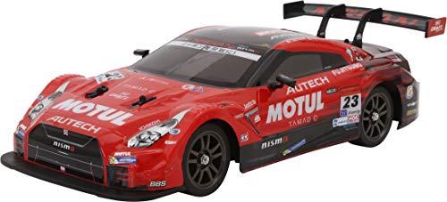 キョウショウ エッグ RC 1/16スケール ドリフトレーシング モチュール AUTECH GT-R 4WD (赤)