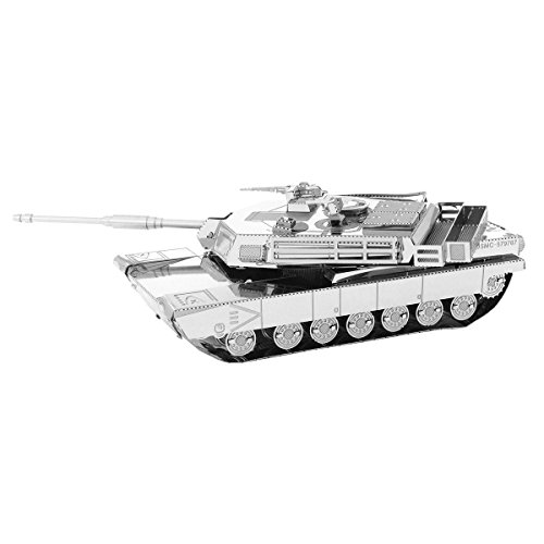 Fascinations Metal Earth M1 Abrams Tank 3D Metal Model Kit