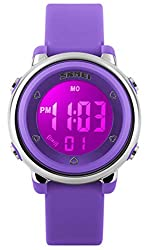 professional Children's Watch Multifunctional 50m Waterproof Sports LED Alarm Clock Stopwatch Children's Digital Children's Watch