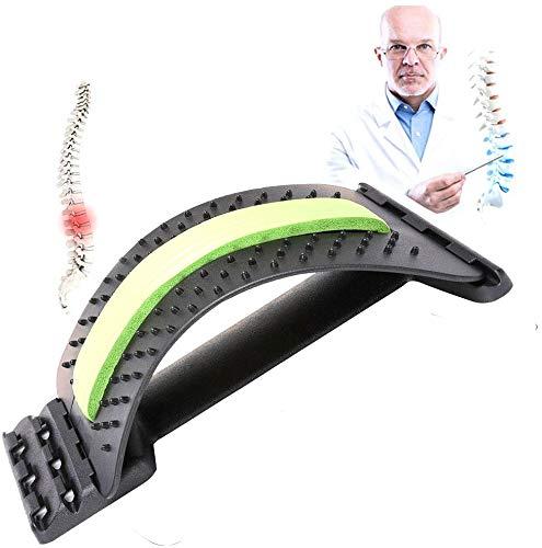 Lapeno Rückendehner – Schmerzlinderung im unteren und oberen Rücken, Lendenwirbeldehner, Haltungskorrektur, Rückenstütze für Bürostuhl, Muskelverspannungen (Back)