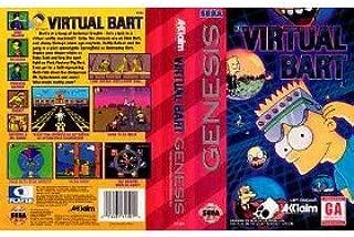 Simpsons: Virtual Bart - Sega Genesis