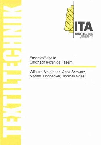 Faserstofftabelle Elektrisch leitfähige Fasern / Fibre-Table Electrically Conductive Fibres (Textiltechnik/ Textile Technology)