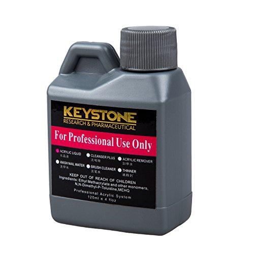 REFURBISHHOUSE Liquido de acrilico profesional para puntas del polvo del arte de una 120ml