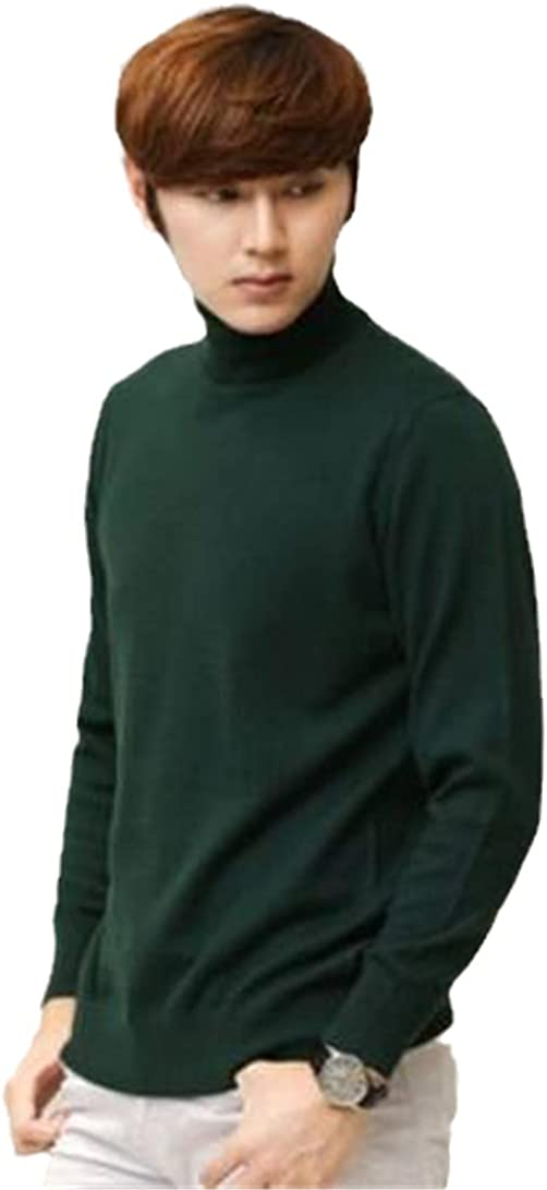 Choice Cashmere Turtleneck Sweater Men's Fall Long Super intense SALE Winter Sl